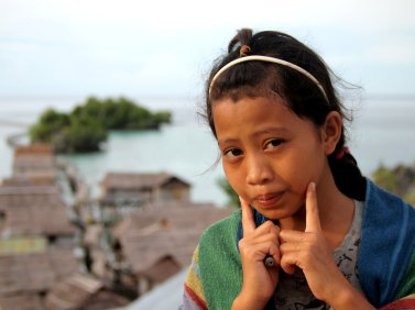 Bajau Girl, Sulawesi