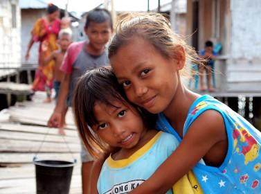 Bajau Girls, Sulawesi