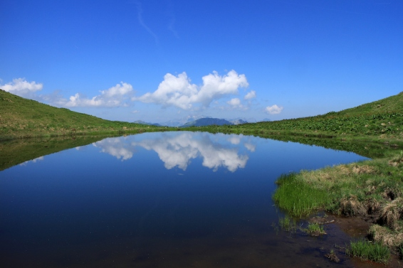 Dent de Valerette Lake