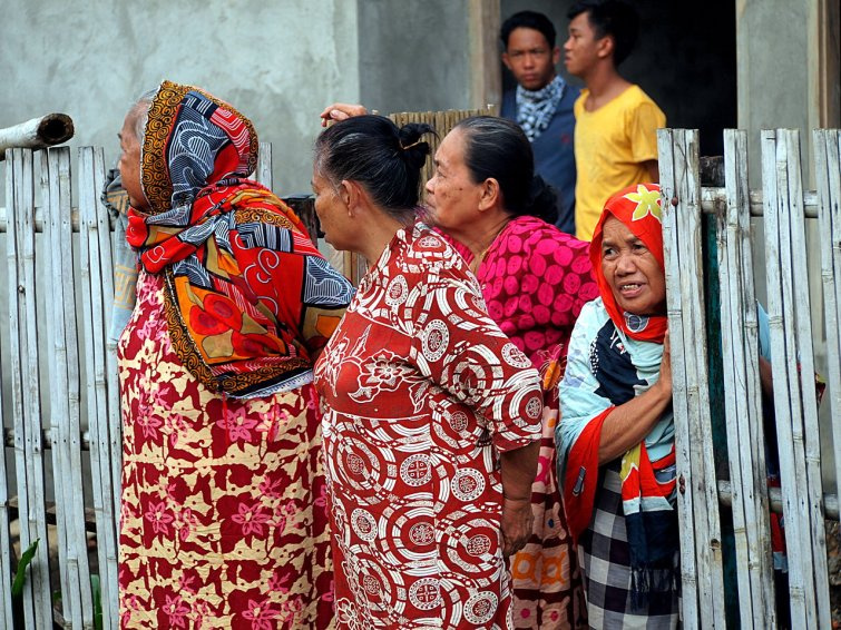 Procession Watching, Sulawesi
