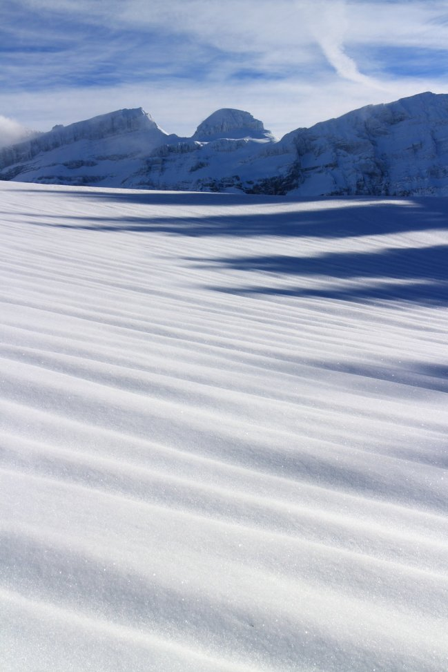 Diablerets in the Shadow