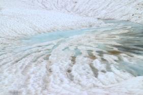 Lac de Segray gelé