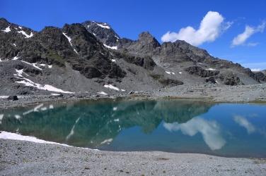 Lac au-dessus du Lac du Grand Désert