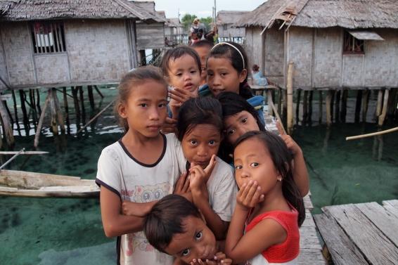 Bajau Children