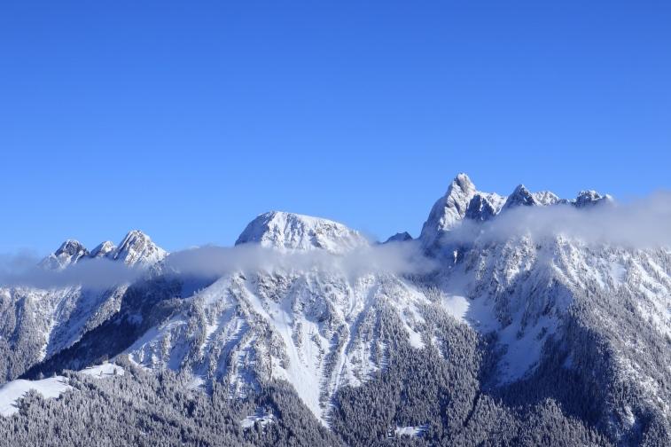 Rocher du Midi et La Douve