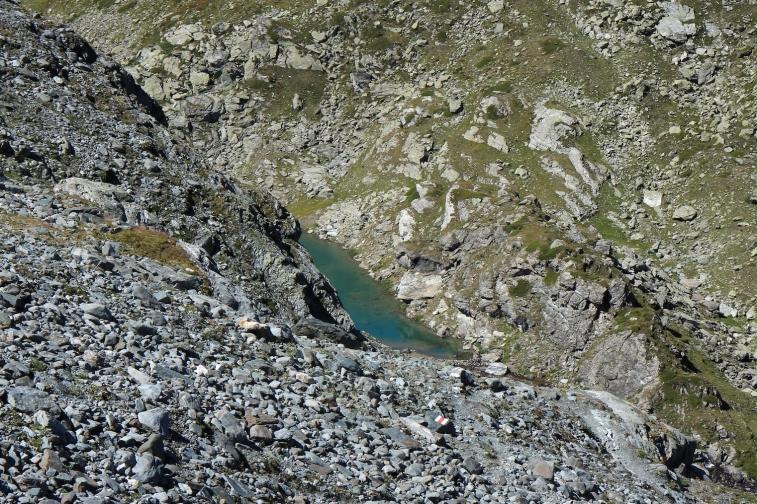 Lac sous le Glacier de Tortin